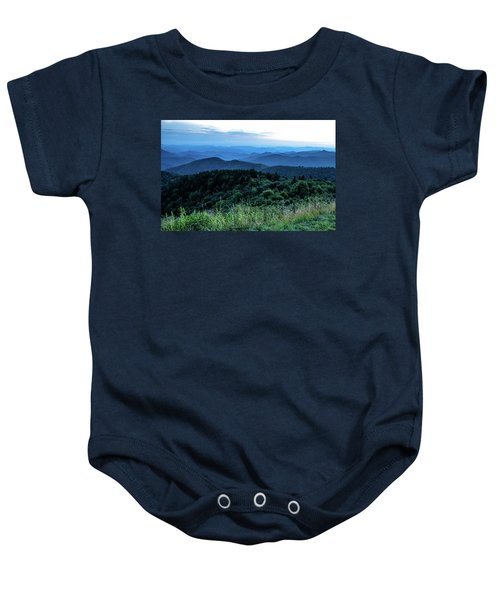 Blue Sunset Baby Onesie