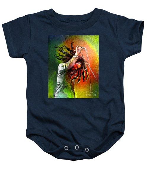 Bob Marley 07 Baby Onesie
