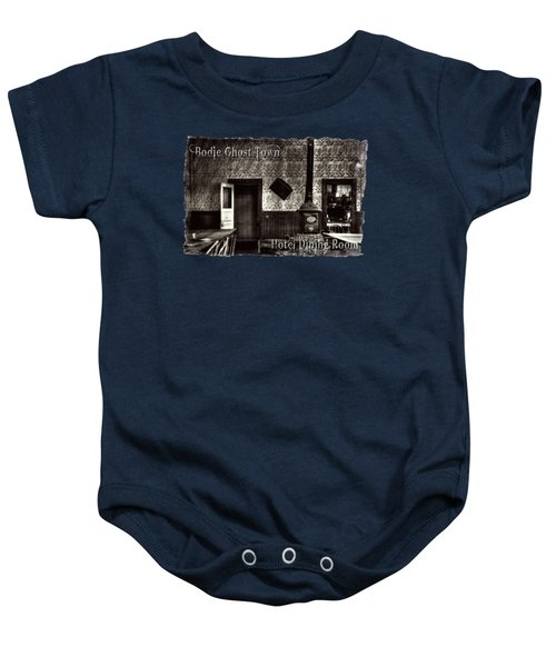Bodie Hotel Dining Room With Pool Table Baby Onesie