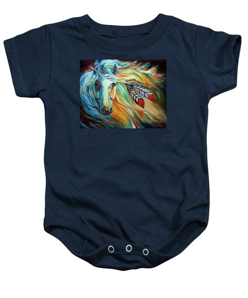 Breaking Dawn Indian War Horse Baby Onesie