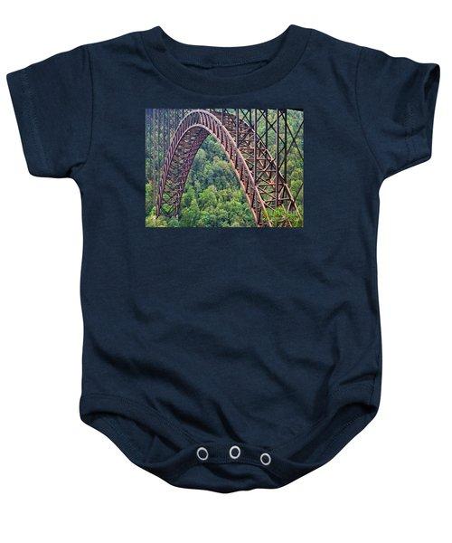 Bridge Of Trees Baby Onesie