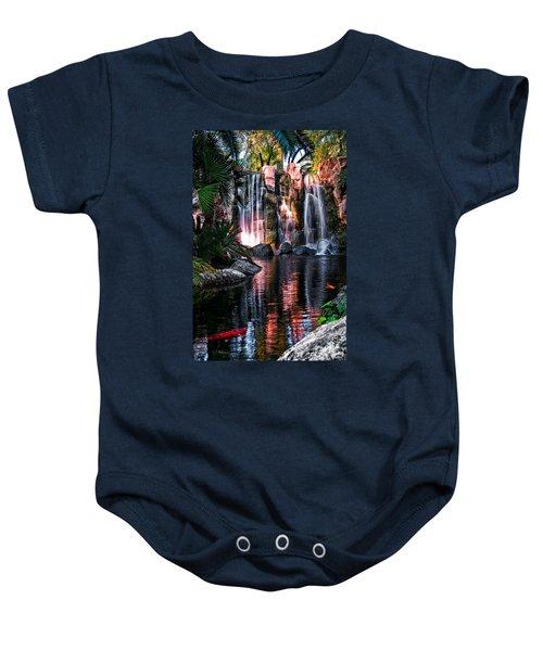 Bright Waterfalls Baby Onesie