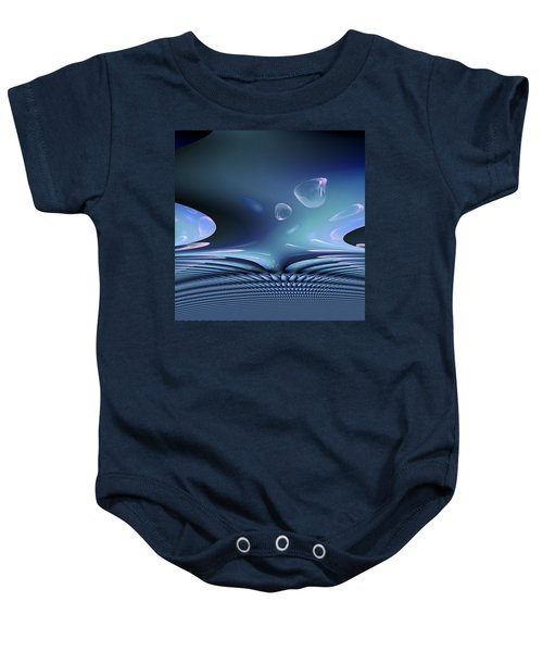 Bubble Abstract Baby Onesie