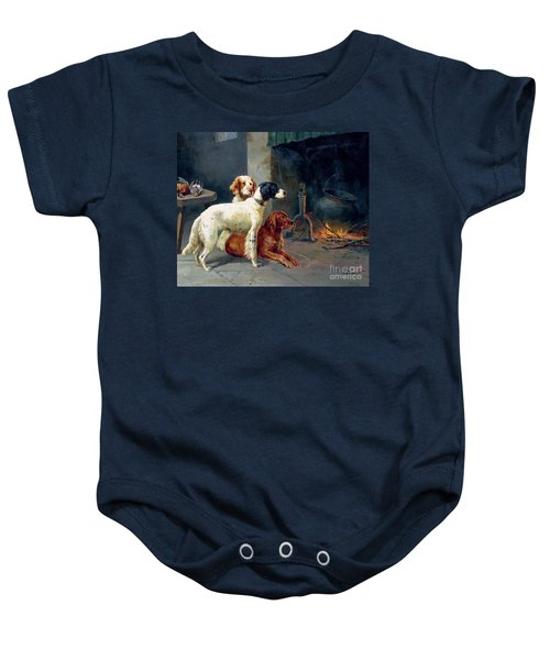 By The Fire Baby Onesie