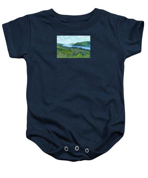Canandaigua Lake II Baby Onesie