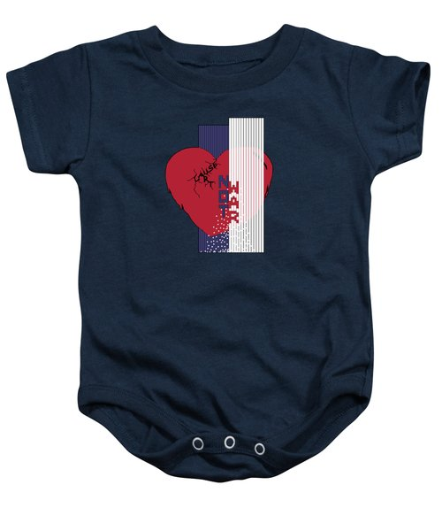 Cause Art Not War Transparent Baby Onesie