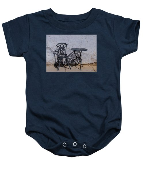 Chair And Table Baby Onesie