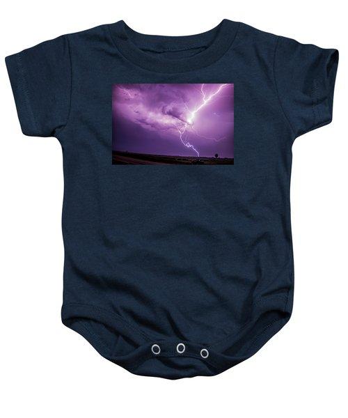 Chasing Nebraska Lightning 018 Baby Onesie