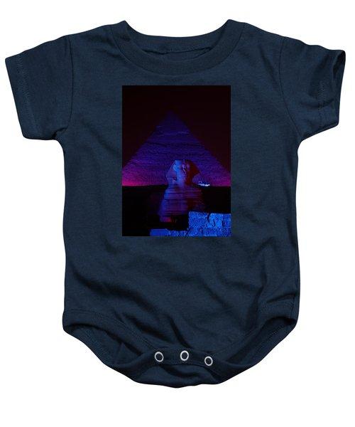 Cheops In Blue Baby Onesie