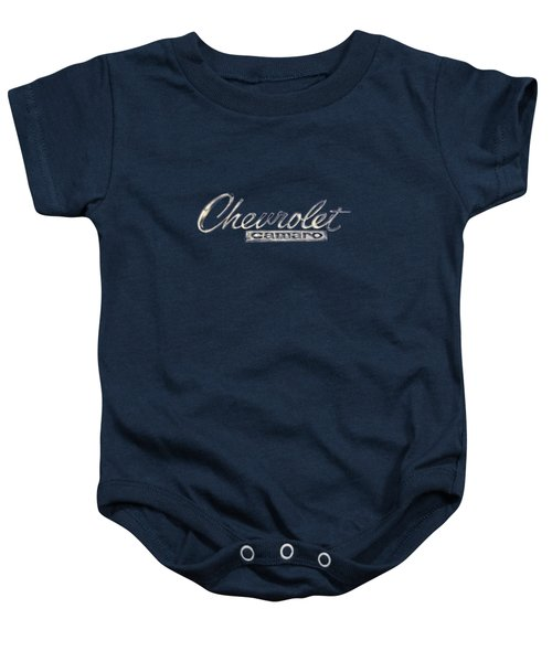 Chevrolet Camaro Badge Baby Onesie