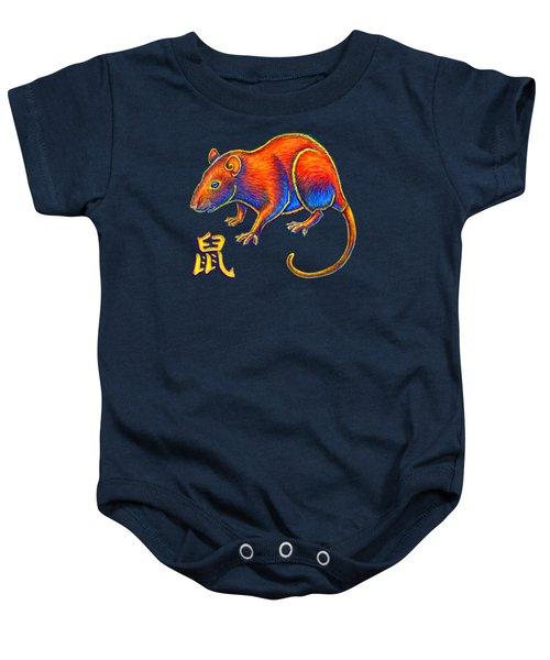 Chinese Zodiac - Year Of The Rat Baby Onesie