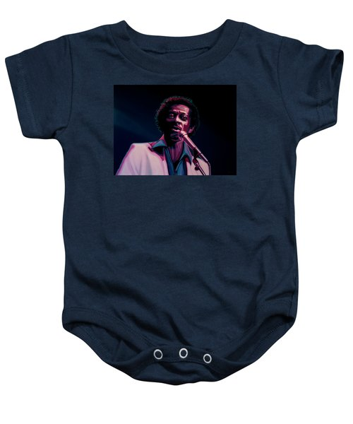 Chuck Berry Baby Onesie by Paul Meijering