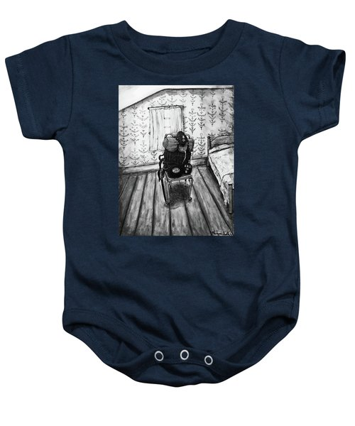 Rhode Island Civil War, Vacant Chair Baby Onesie