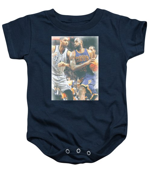 Cleveland Cavaliers Lebron James 4 Baby Onesie