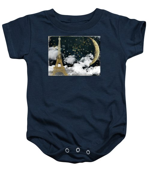 Cloud Cities Paris Baby Onesie by Mindy Sommers