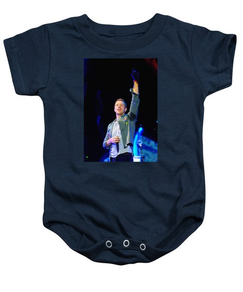 Coldplay8 Baby Onesie by Rafa Rivas