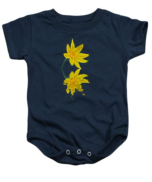 Colorado Wildflower Baby Onesie
