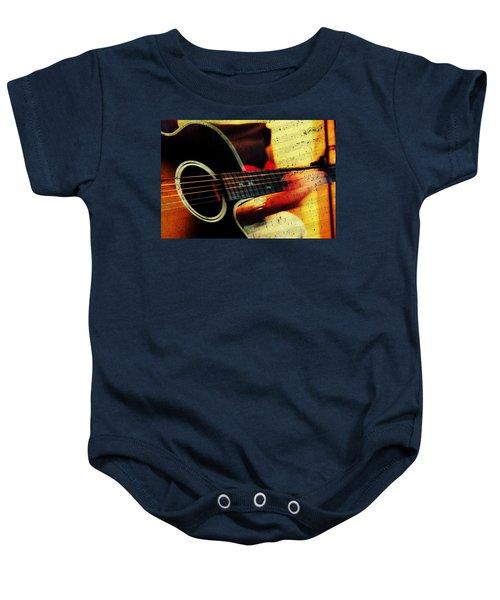 Composing Hallelujah. Music From The Heart  Baby Onesie
