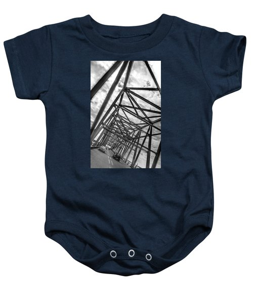 Crossing Through The Chesapeake Bay Bridge Baby Onesie