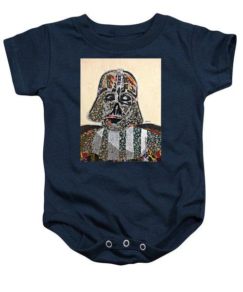 Darth Vader Star Wars Afrofuturist Collection Baby Onesie