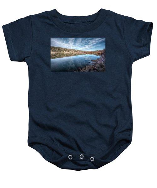 Devils Lake Baby Onesie