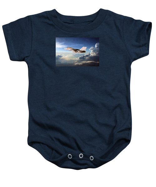 Diamonds In The Sky Baby Onesie by Peter Chilelli