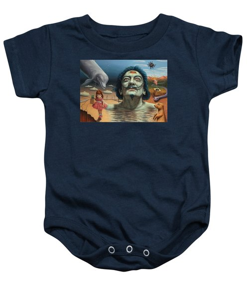 Dolly In Dali-land Baby Onesie