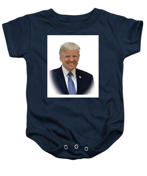 Donald Trump - Dwp0080231 Baby Onesie