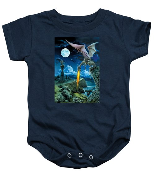 Dragon Spit Baby Onesie by The Dragon Chronicles - Robin Ko
