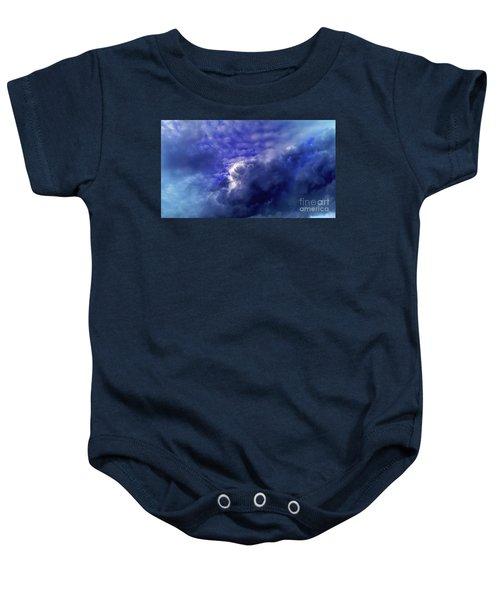 Dramatic Cumulus Sky Baby Onesie