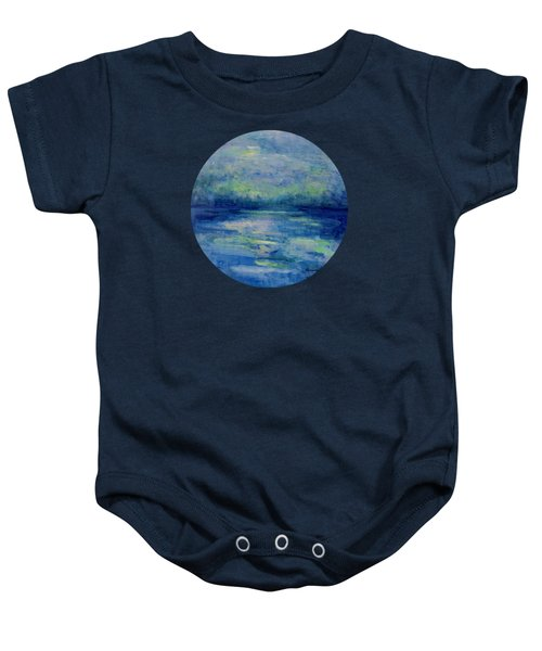 Drawn To The Light Baby Onesie