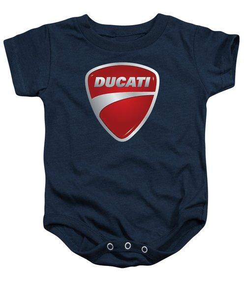 Ducati By Moonlight Baby Onesie
