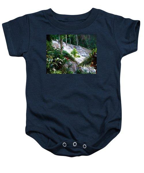 Dunn's River Falls Jamaica Baby Onesie