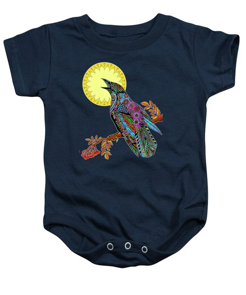 Electric Crow Baby Onesie