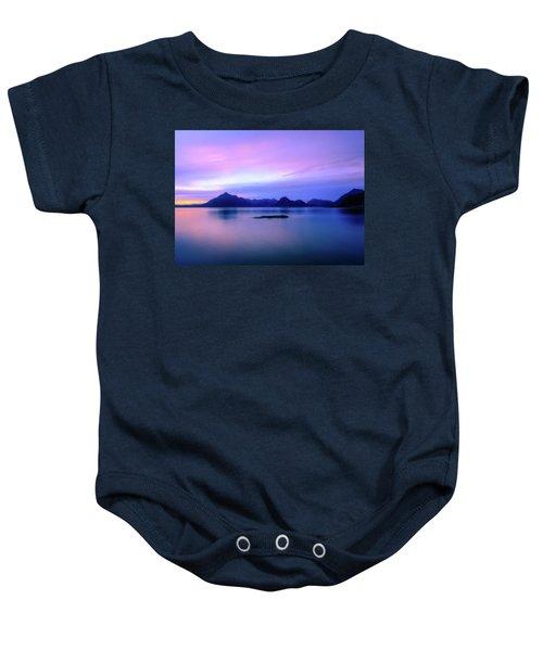 Elgol Sunset Baby Onesie