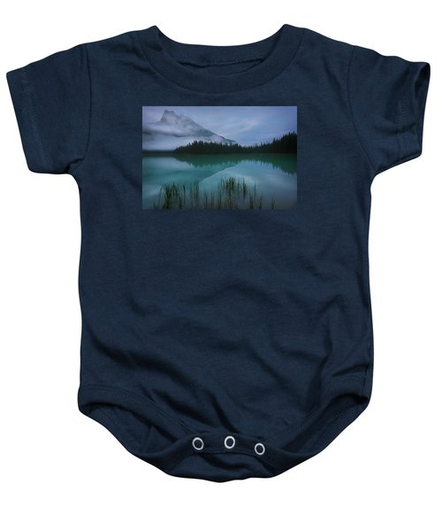 Emerald Lake Before Sunrise Baby Onesie