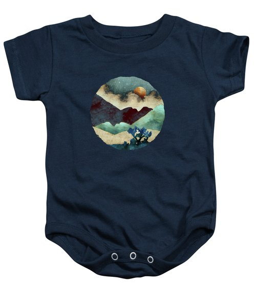 Evening Calm Baby Onesie by Spacefrog Designs