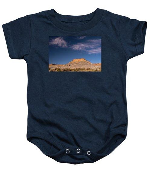 Factory Butte Utah Baby Onesie