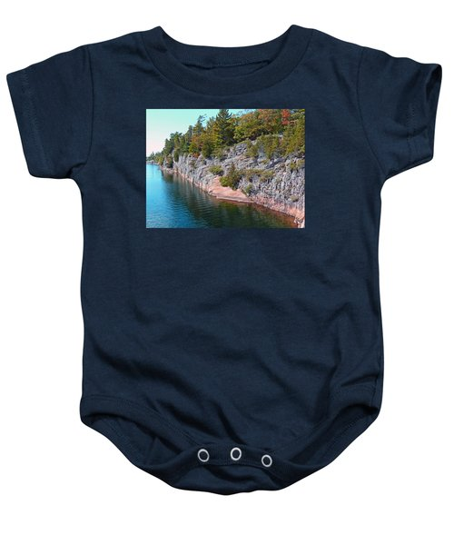 Fall In Muskoka Baby Onesie