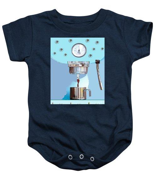 Fantasy Espresso Machine Baby Onesie