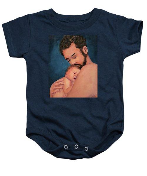 Fatherhood Baby Onesie