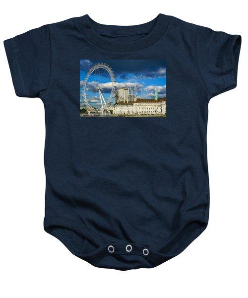 Ferris Wheel Baby Onesie