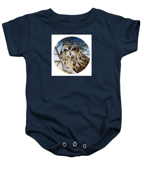 Da172 Fiery At Dusk Daniel Adams Baby Onesie