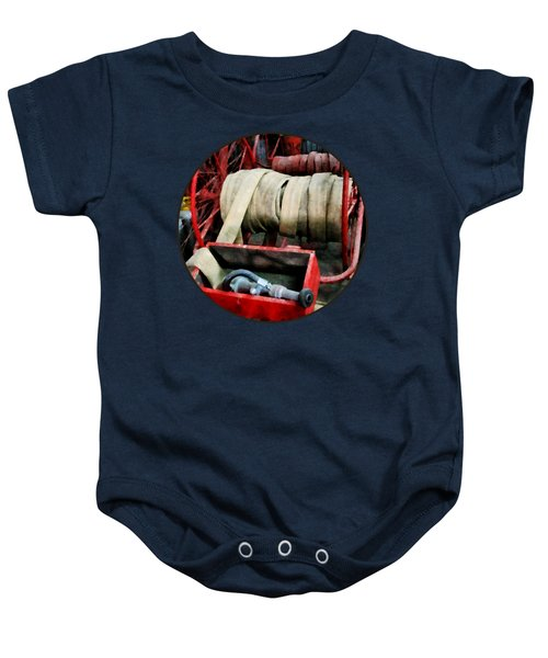 Fireman - Fire Hoses Baby Onesie