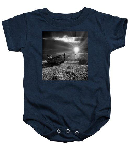 Fishing Boat Graveyard 7 Baby Onesie