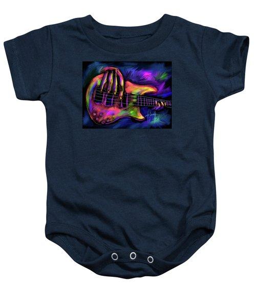 Five String Bass Baby Onesie