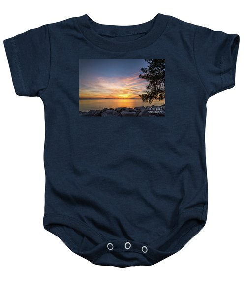 Florida Sunset #3 Baby Onesie
