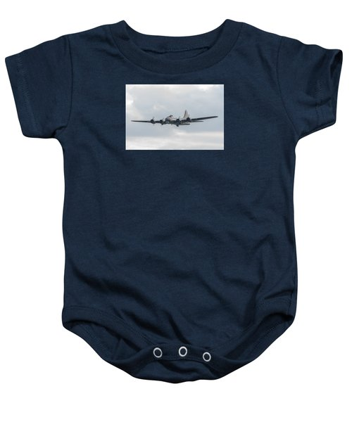 Flying Fortress Sally B Baby Onesie