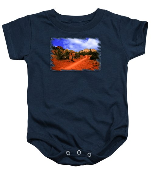 Follow Me Baby Onesie by Mark Myhaver
