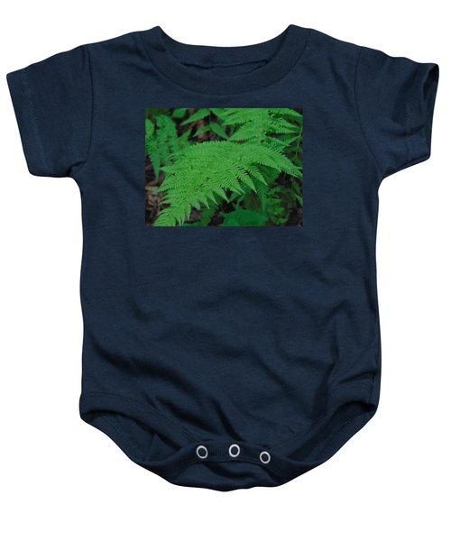 Forest Fern Baby Onesie
